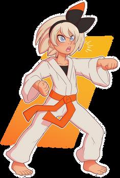 Bea in Training