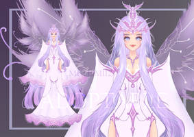 (Open)Adoptable : Butterfly Princess by MulliW
