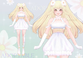 Adoptable 04 - Daisy Princess |  OPEN by MulliW