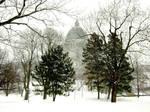 Oratoire Saint-Joseph du Mont-Royal en hiver