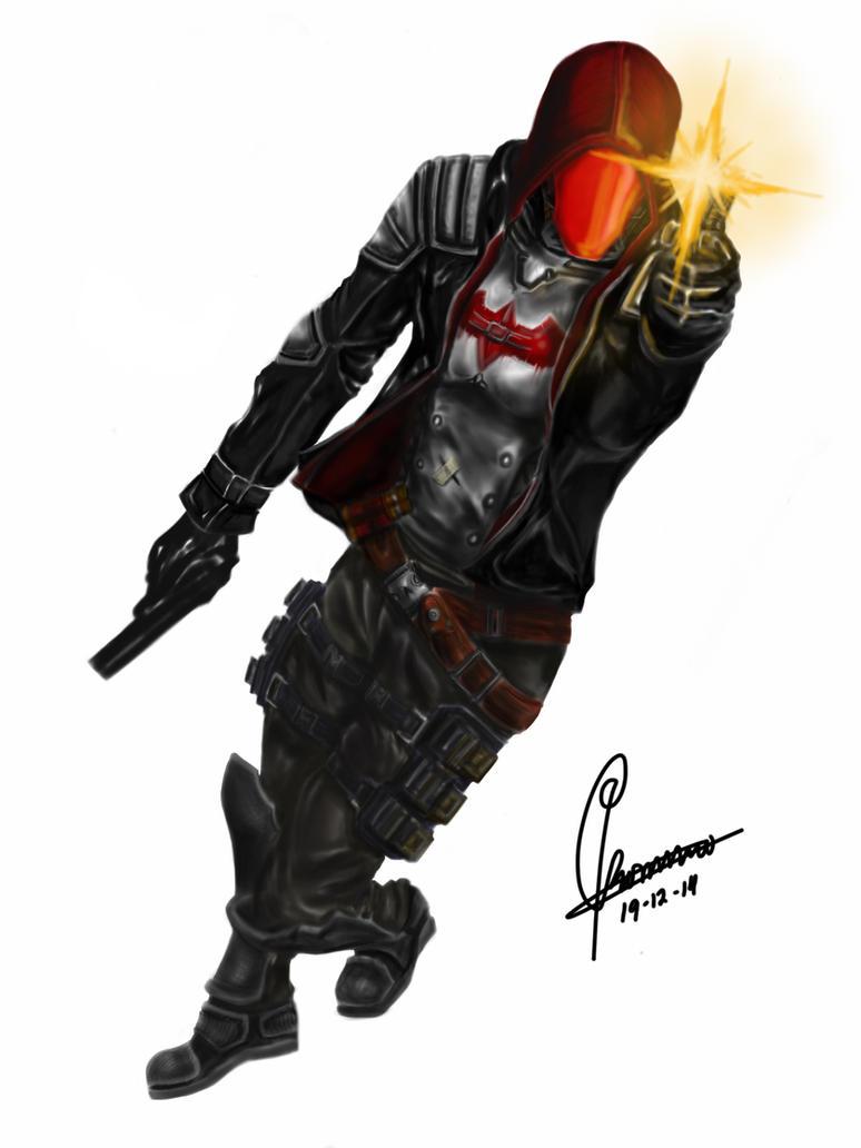 Batman Arkham Knight - Red Hood by giraerdo on DeviantArt