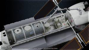 Space Station Enterprise Payload Bay