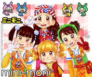 Minimoni - Minimoni Jankenpyon! by fumikaharukaze