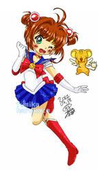 Card Captor Sakura x Sailor Moon Crossover by fumikaharukaze