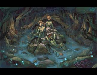 Swamplife by MoonLightSpectre