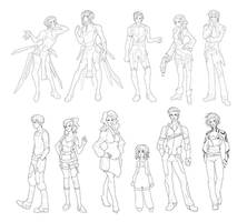 Characters Compilation