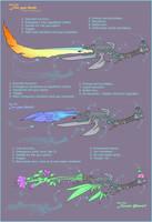 GunBlade Revolution by MoonLightSpectre