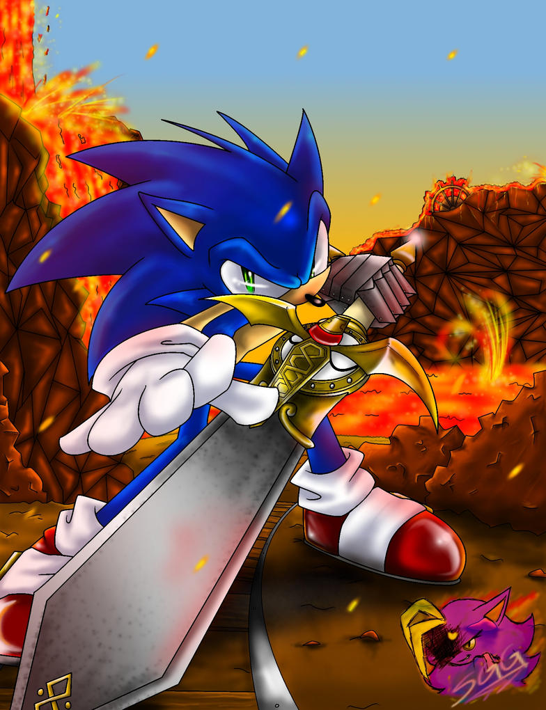 Sonic The Ultimate Knight Anook