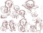 Elise doodles
