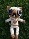 Crochet Felyne Monster Hunter Doll by CrotchetyCrocheting