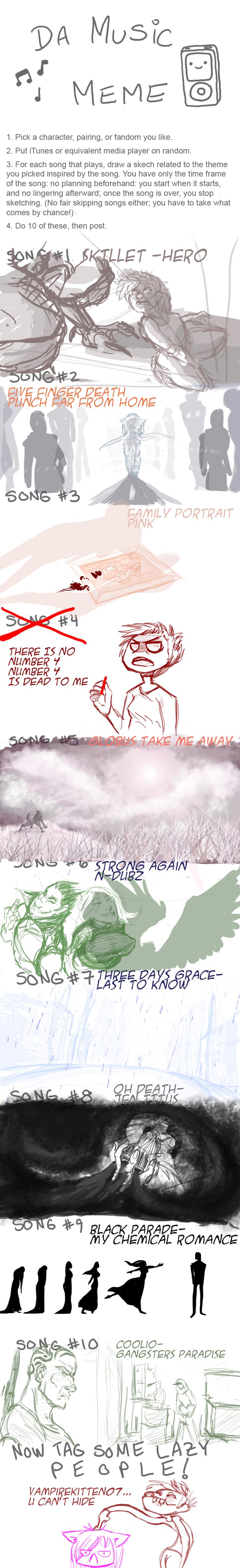 Music Meme by Donlvir