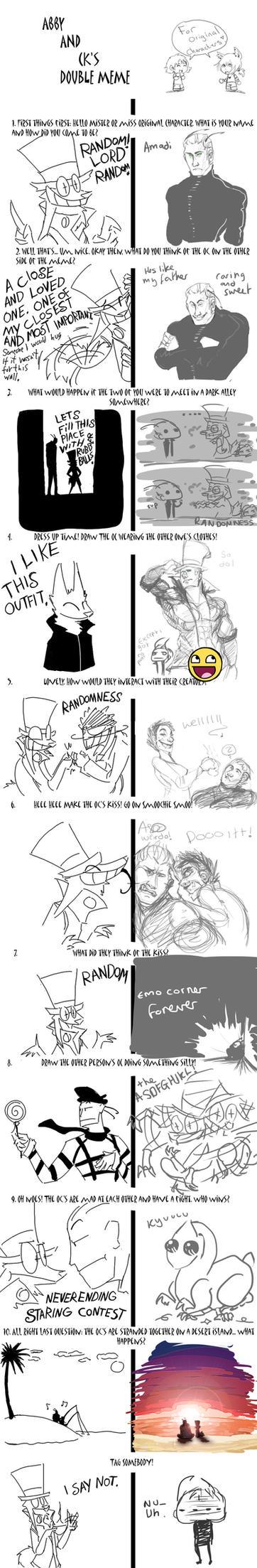 The random oc double meme by Donlvir