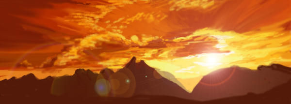 Mountains by Donlvir