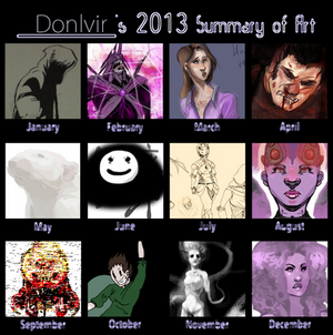 Donlvir's Summary meme 2013 addition