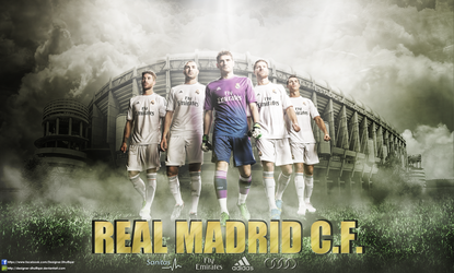 Real Madrid C.F. 2013/2014 by Designer-Dhulfiqar
