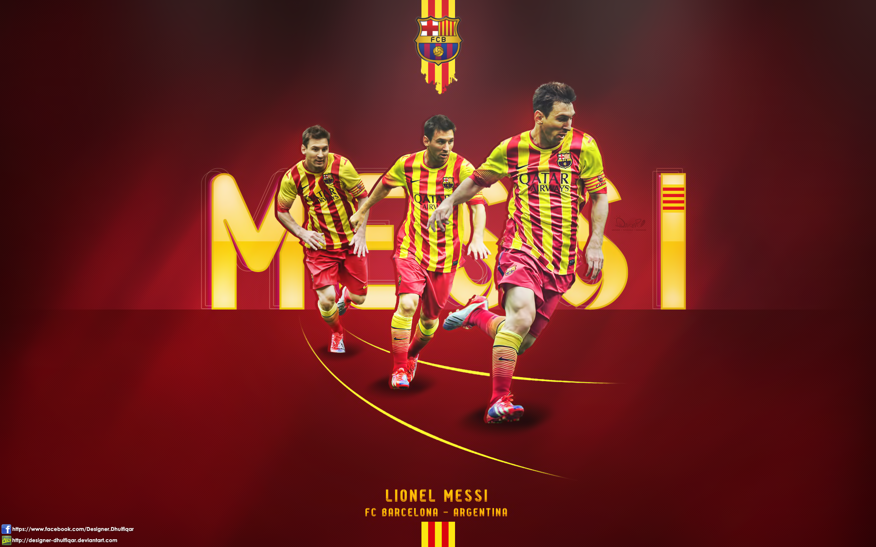 Lionel messi fc barcelona by designer dhulfiqar on deviantart lionel messi fc barcelona by designer dhulfiqar voltagebd Choice Image