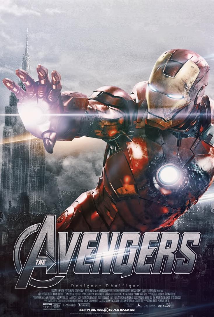 The Avengers Iron Man by Designer Dhulfiqar on deviantART