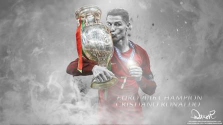 Cristiano Ronaldo - Portugal by Designer-Dhulfiqar