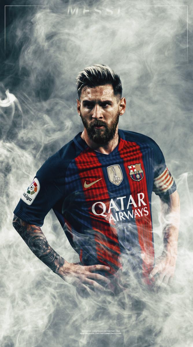 Lionel Messi By Designer Dhulfiqar
