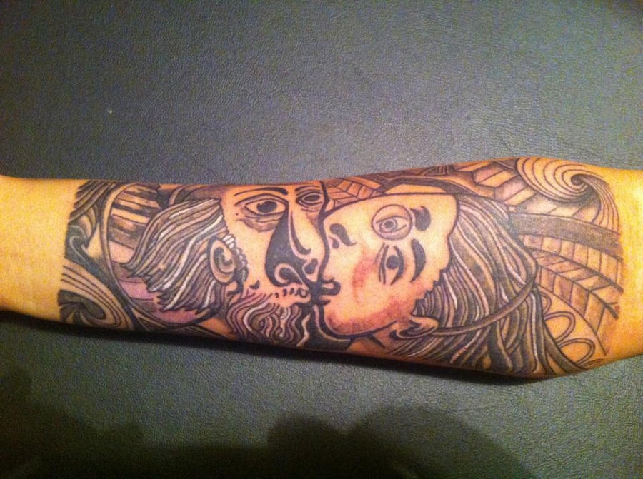 Picasso inspired tattoo by doctoress on deviantart for Picasso tattoo artist