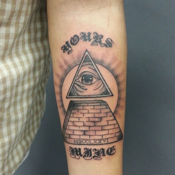 All Seeing Eye Pyramid Your Money Or Mine By DoctorEss