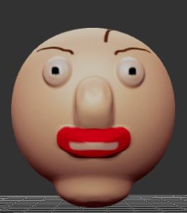 Really Good 3D Baldi by Kimitfrg777