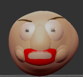 3D Baldi Gets Sexy And Thicc (Request) by Kimitfrg777
