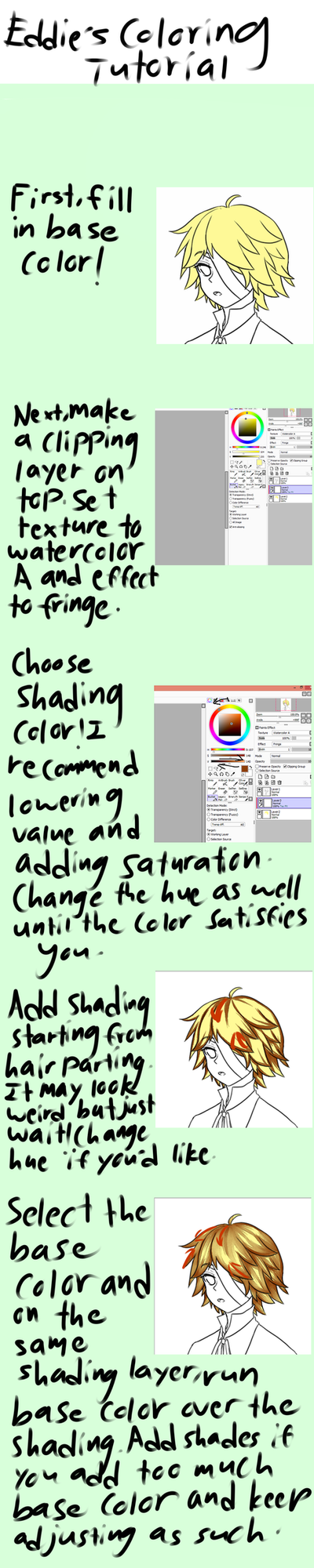 Hair Coloring Tutorial by Boots5301