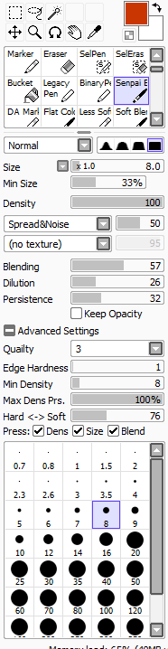 Brush Settings by Boots5301