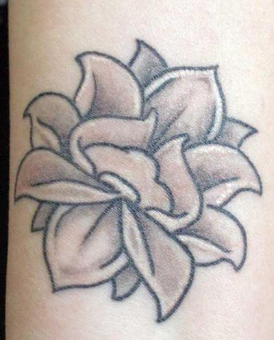 Lotus Tattoo - flower tattoo