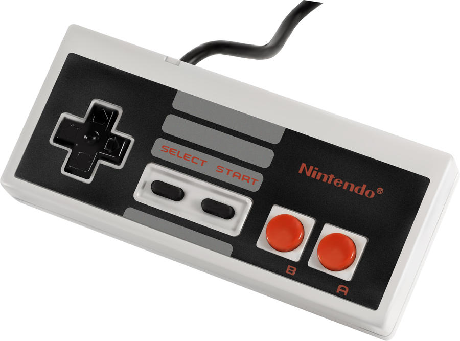 Vector NES Controller by the-manwaring