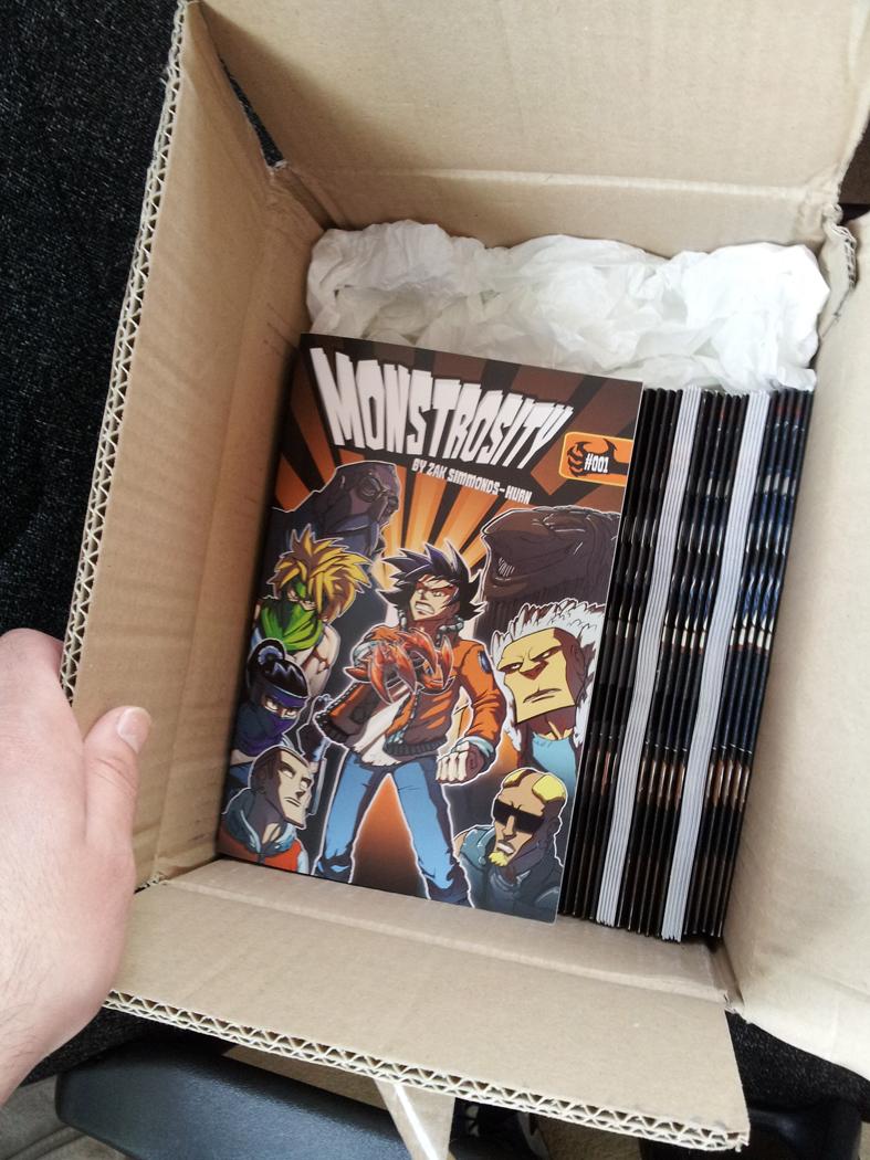 Monstrosity is here! by zak29