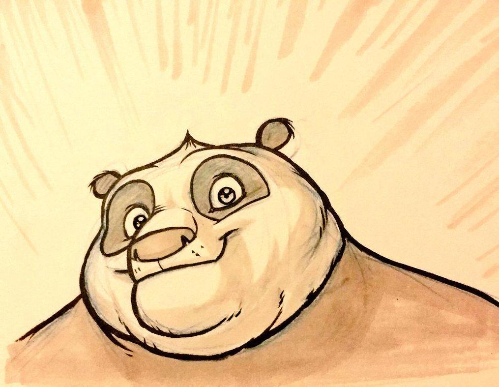 Kung Fu Panda comic!! by zak29