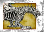 Undead Dragon - Ink Series