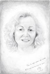 Retrato de mi madre by TinisaPlus