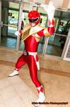 Red Armored Ranger