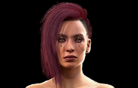 Female V - Cyberpunk 2077