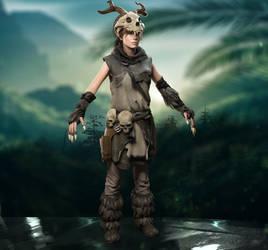 Lara Croft Baba Yaga - Rise of the Tomb Raider by Flvck0