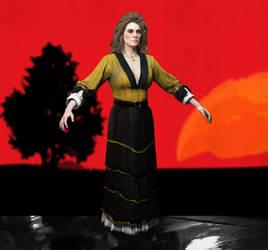 Bathing Lady Var. 0 - Red Dead Redemption 2