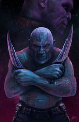 Drax is out for Thanos! by JaimeGervais