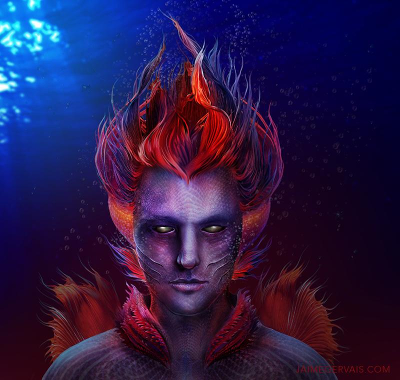 Sea Creature Concept by JaimeGervais