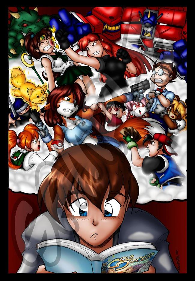 Chisuji Poster for A-kon by Sarevock