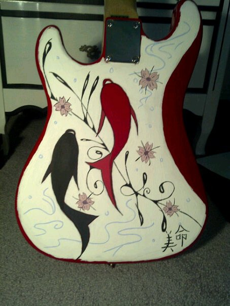 Koi fish guitar by 7stillborn7 on deviantart for Koi fish guitar