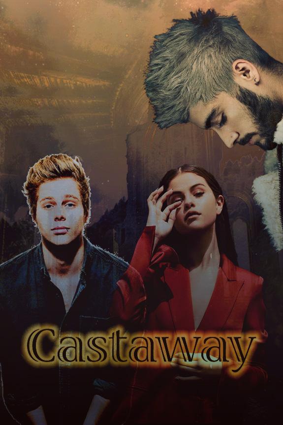 Castaway (Wattpad Book Cover) by DaisyChan55