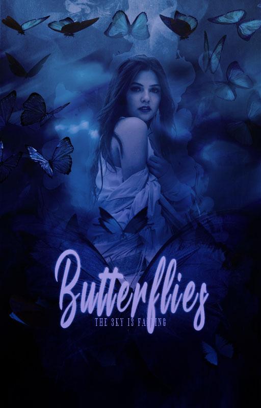 Butterflies||Wattpad Cover|| by DaisyChan55