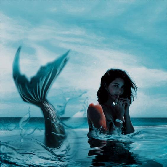 Mermaid [Manip] by DaisyChan55