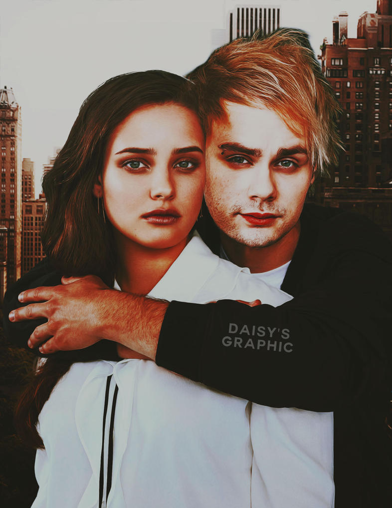 Katherine Langford and Michael Clifford [Manip] by DaisyChan55