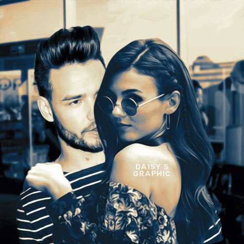 Liam Payne and Victoria Justice[Manip] by DaisyChan55