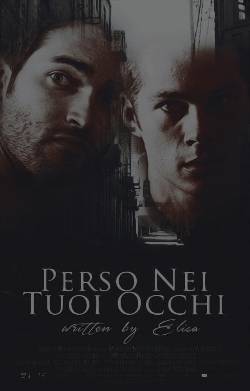 Perso Nei Tuoi Occhi||Wattpad Cover|| by DaisyChan55