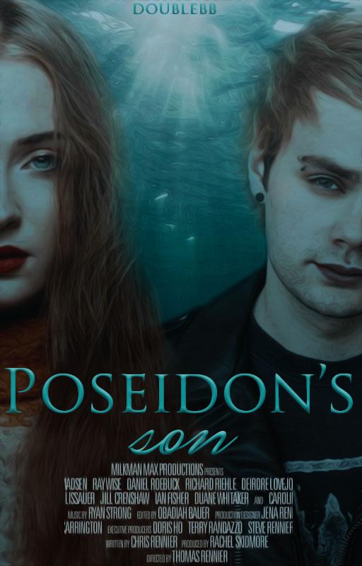 Poseidon's Son  Wattpad Cover   by DaisyChan55